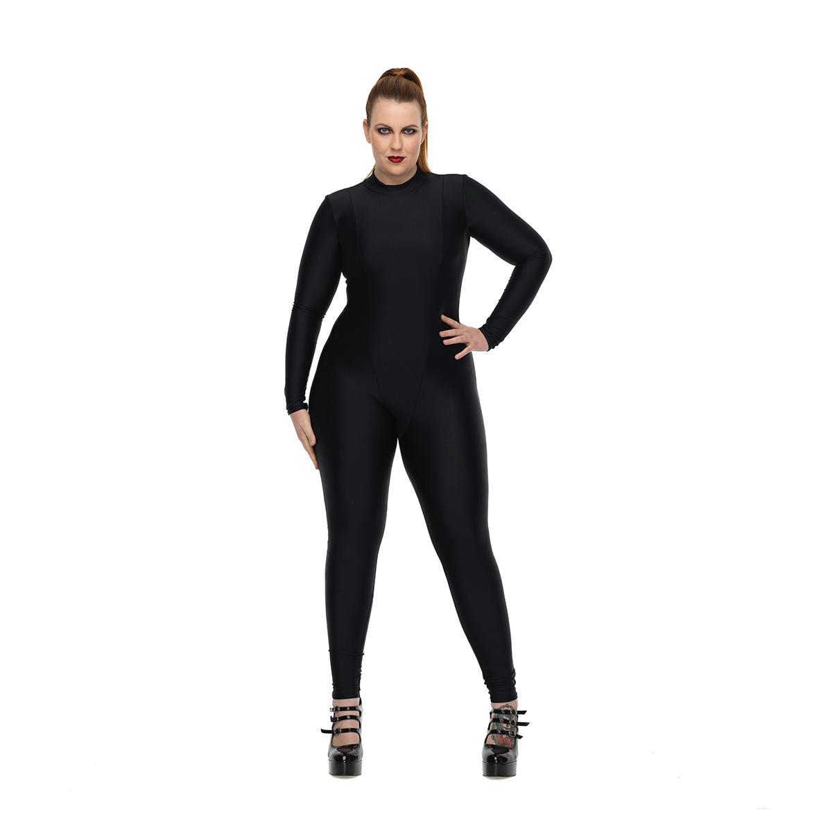 matte black classic catsuit - fantom wear | fantom wear