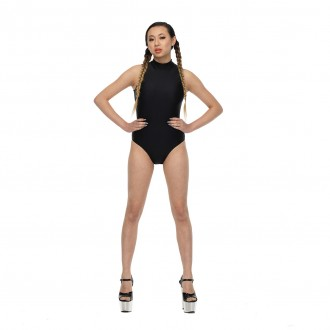 Shimmer Black Bodysuit 01 FEATURE